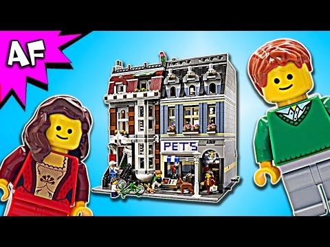 Lego Creator PET SHOP 10218 Speed Build