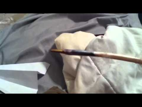 How to make a peacock feather pen
