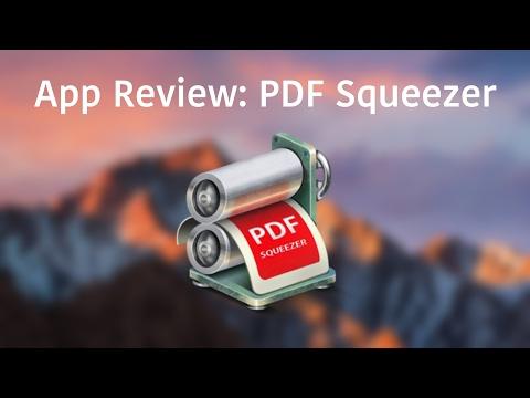 App Review: PDF Squeezer