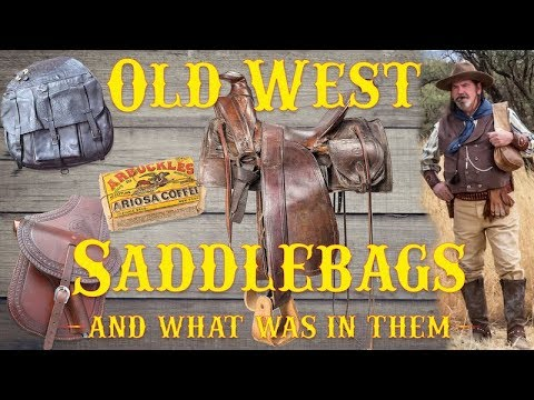 Old West Saddlebags