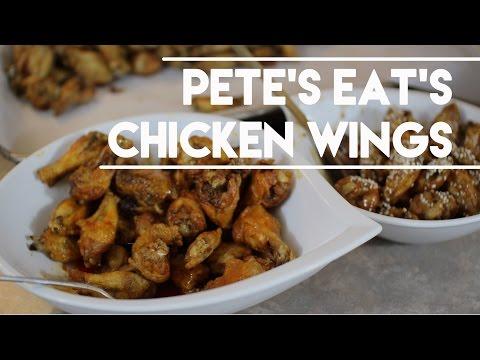 Tasty Buffalo Hot  / Honey Garlic Chicken Wings