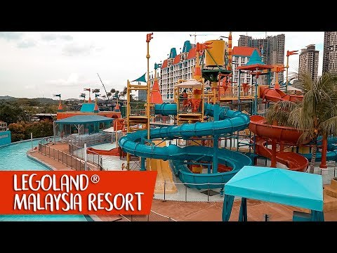 Tour LEGOLAND Malaysia Hotel's themed rooms, the Theme Park & Water Park with SingaporeMotherhood!
