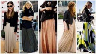 طرق لارتداء فساتين الصيف في الشتاء