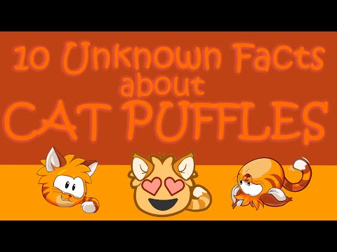 10 Unknown Facts about Cat Puffles: Club Penguin Comedy Video #11