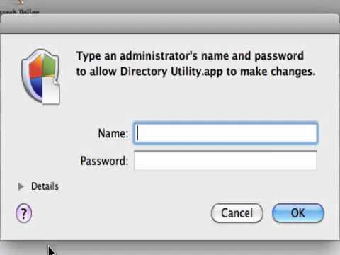 How to enable root user on Mac OS X Snow Leopard