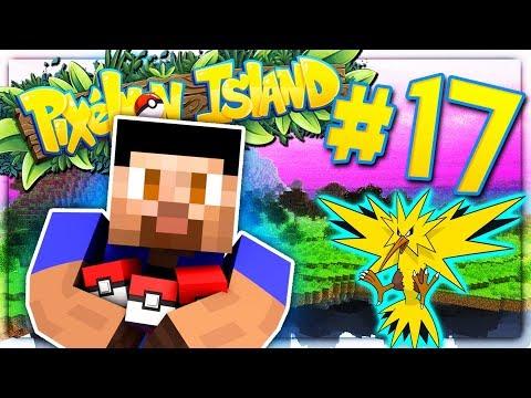 LEGENDARY BIRD HUNTING! - PIXELMON ISLAND S2 #17 (Minecraft Pokemon Mod)