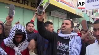 Hebron protest against Trump