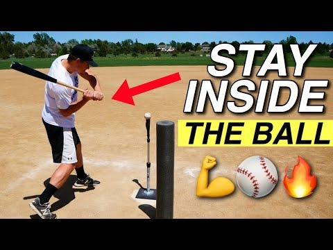 Ultimate Drill to Stay INSIDE THE BALL (Baseball Hitting Drills)