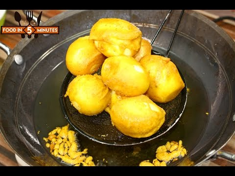 EGG PAKORA RECIPE By Food In 5 Minutes