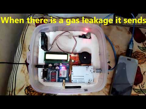 GSM based Gas leakage detection system using Arduino