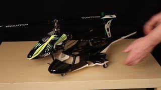 450 Scale Fuselage Install on ESky Belt CP V2 pt 2 - PakVim