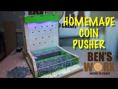 MAKE A COIN PUSHER **Arcade Build**