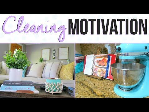 CLEANING MOTIVATION | CLEAN WITH ME | 7 TIPS TO GET MOTIVATED TO CLEAN | Page Danielle