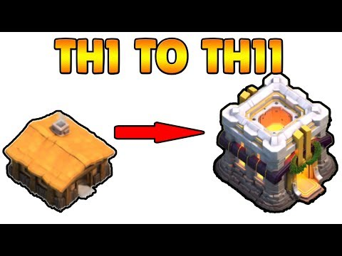 New COC TH1 To TH11 Max Within 20 Minutes 2017