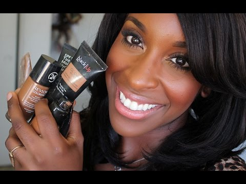 Best Foundations For Women of Color!!!