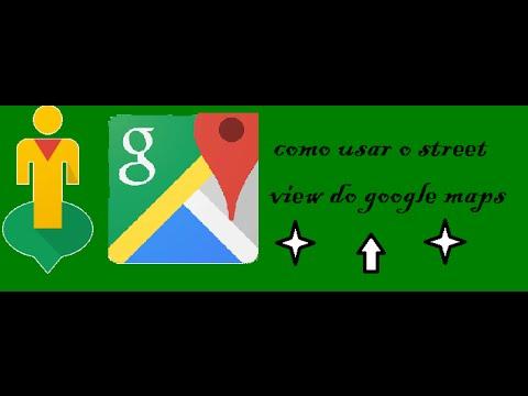 Como usar o street view do google maps