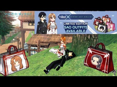 Mabinogi - Sword Art Online - Outfits