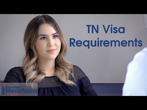 Requirements for the TN Visa