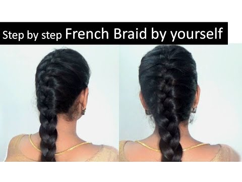French braid in 5 minutes| Step by step video | Starnaturalbeauties