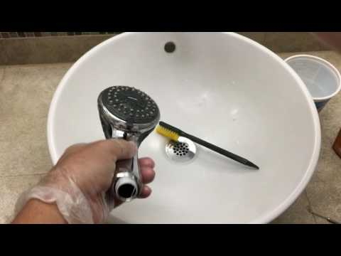 How To Clean and Maintain A Handheld Shower Head