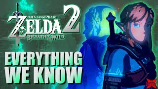 Everything We Know About Zelda Breath of the Wild 2