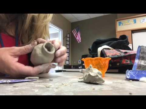 How to Make Pinch Pot Greek Vase