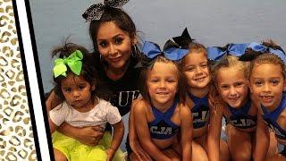 "Nicole ""Snooki"" Takes Her Daughter Cheerleading!"