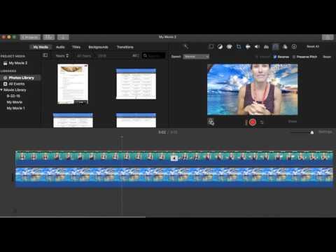 Replace Audio- iMovie