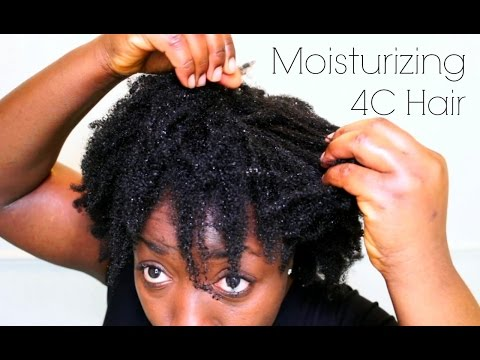 How To Moisturize Seal 4c 4B Coily Natural Hair After Wash Retain Moisture Keep Moisturized longer