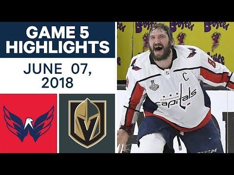 NHL Highlights | Capitals vs Golden Knights, Game 5 - June 7, 2018