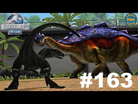 New Jurassic World - The Game - Ep 163 The Harder They Fall Vs Indominus Rex HD Gameplay Walkthrough