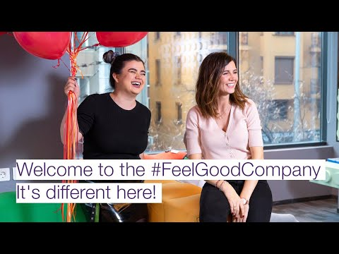 Welcome to the #FeelGoodCompany - It's different here!