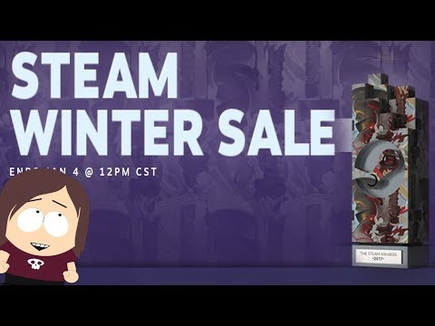 Steam Winter Sale has begun! || Steam Awards, Cards, and Sales