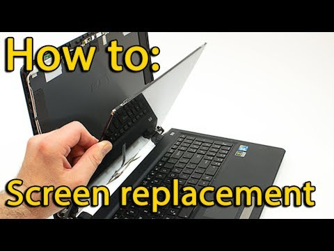How to screen replacement in laptop Lenovo ThinkPad L530