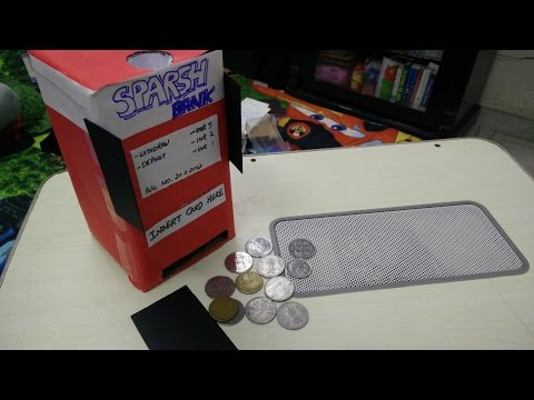ATM Piggy Bank for Kids | DIY crafts for kids | Best out of Waste ideas by Sparsh Hacks