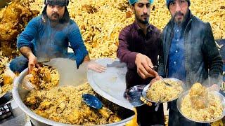 Malang Jan Bannu Pulao || Beef Bannu Pulao Asian Street Food 🤗 ||