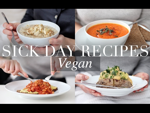 Sick Day Recipes (Vegan/Plant-based) | JessBeautician
