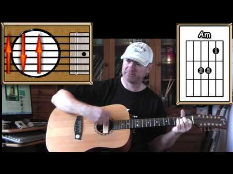 Learning To Fly - Tom Petty - Acoustic Guitar Lesson (easy)