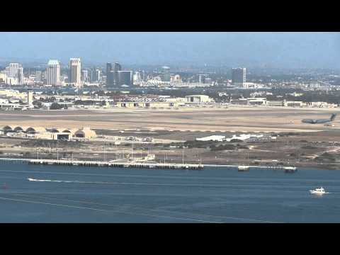 Awesome view from Fort Rosecrans at Coronado, NAS North Island and San Diego Bay
