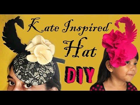 DIY Kate Inspired Hat 2 || Cara Membuat Topi A la Kate