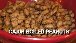Cajun Boiled Peanuts Recipe