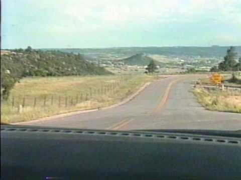 Driving in Colorado Springs August 1994