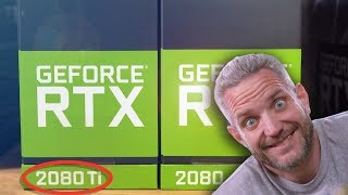 Unboxing CUSTOM NVIDIA RTX Cards! This box is CRAZY!