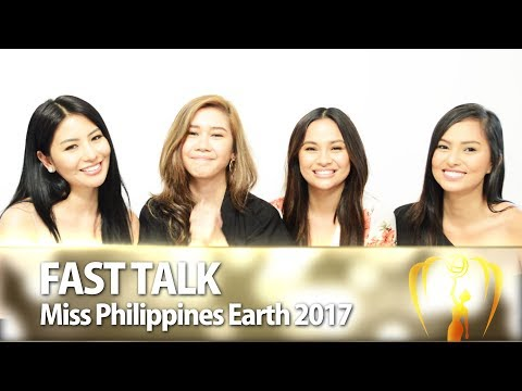 Fast Talk with the Miss Philippines Earth 2017 Queens