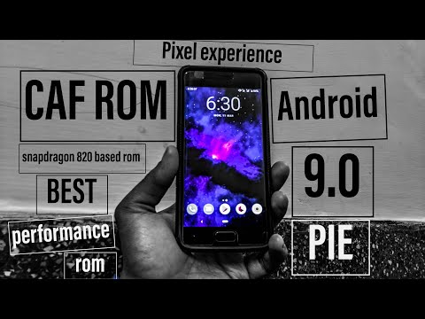 🔥Lenovo zuk z2 plus | Pixel experience CAF Android 9 0 rom