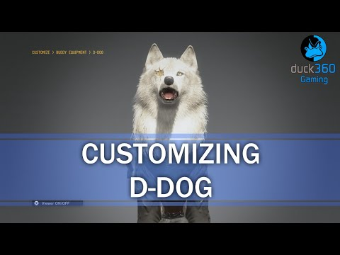 Customizing D-Dog - Metal Gear Solid V: The Phantom Pain
