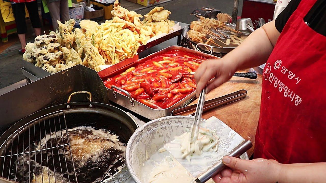 잇티비 분식영상 17편 몰아보기!!!떡볶이,튀김,순대,김밥,어묵!!!/(Tteokbokki,Fried food,Sundae)BEST17/Korea street food