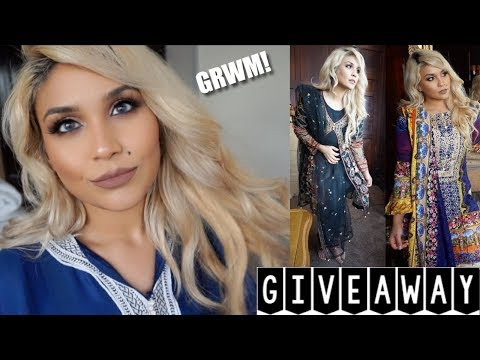 GET READY WITH ME & A GIVEAWAY! | LEMONADE CLOTHING