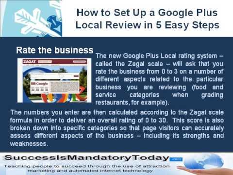 Local Offline How to Set Up a Google Plus Local
