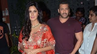 Salman Khan and Katrina Kaif Attend Arpita Khan's Diwali Party 2017
